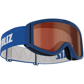 Bliz Pixie Goggles Kinderen, blue/orange
